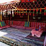 Beduinenzelt - mit Beamer-Möglichkeit um Fotos & Videos anzuschauen