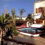 Garten - Swimming-Pool - Beduinenzelt