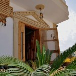 Eingang Villa Surfers-Lounge-Dahab